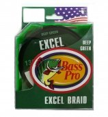 Плетенка Bass Pro Excel Braid 0.12mm 130m