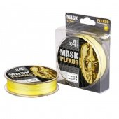 Леска плетёная AKKOI Mask Plexus 125m (yellow) d0,10mm