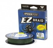 Плетёнка Spiderwire EZ Braid 100m Creen 0.17 1152326